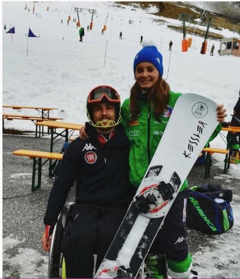 René De Silvestro e Giulia Gaspari.