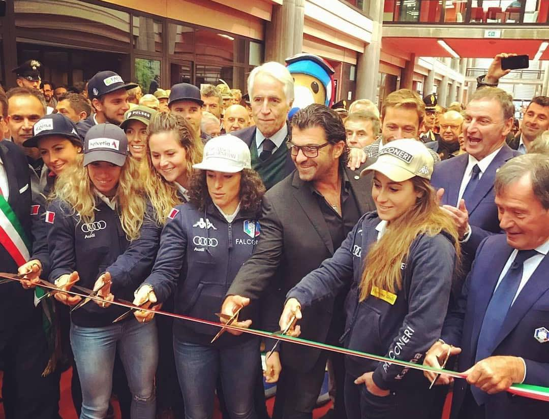 Il Presidente Roda Inaugura Fiera Skipass 2019 A Modena Racingski